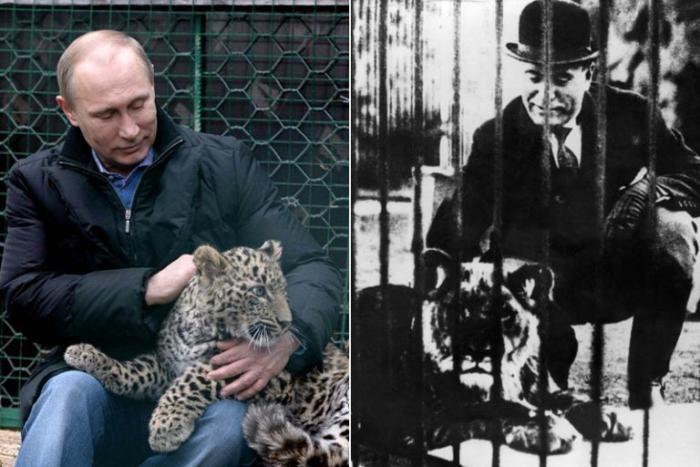 Путина сравнили с Муссолини (ФОТО)