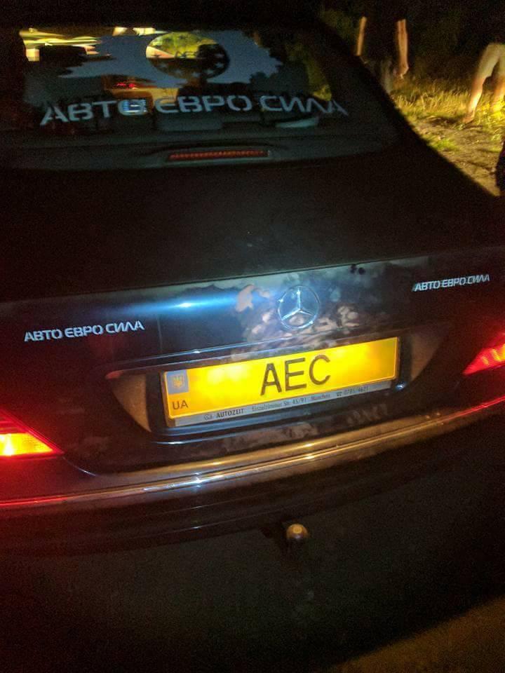 Под Киевом расстреляли машину главы Авто-Евро-Сила