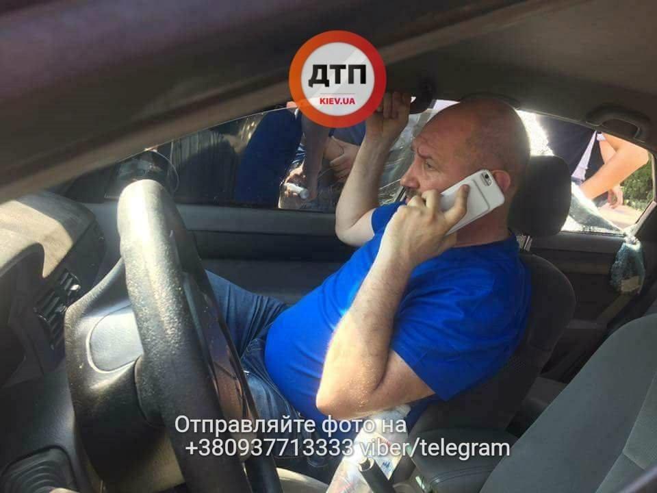 Охранник нардепа Мельничука устроил стрельбу в Киеве (ФОТО)