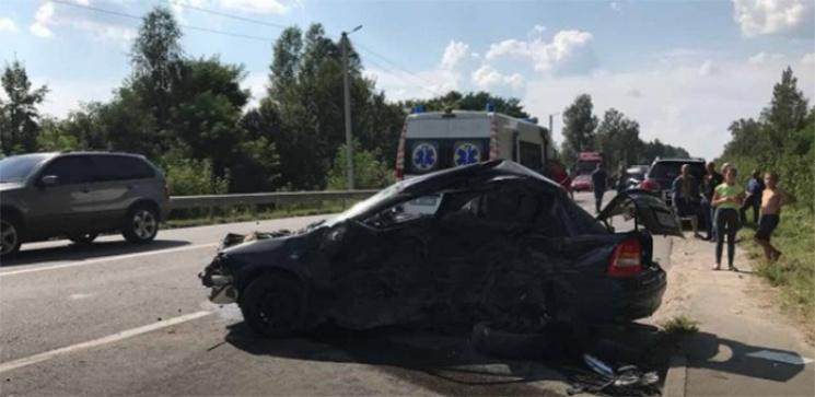 Кортеж Петра Дыминского попал в смертельное ДТП (ФОТО+ВИДЕО)