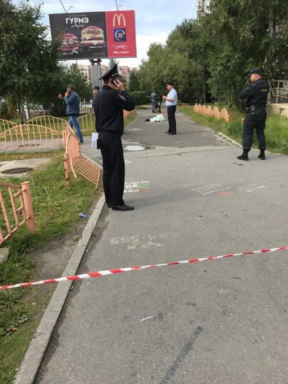 В России мужчина с ножом ранил восемь прохожих (ФОТО)