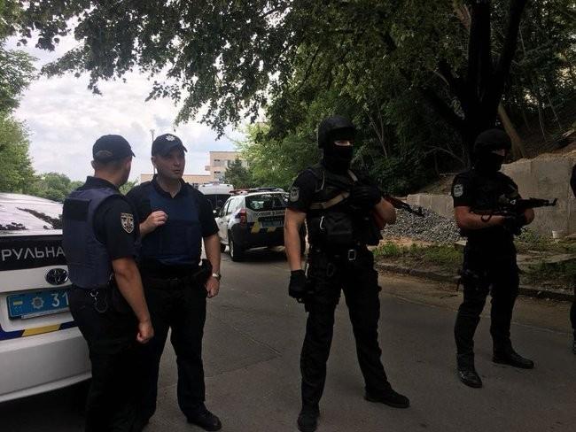 Полиция предупредила о проведении учений в Киеве. ФОТО